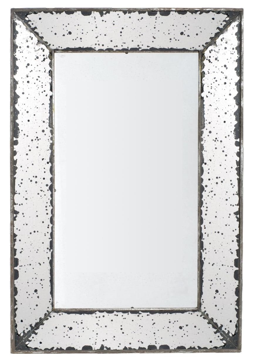 A&B Home Antique-Look Frameless Wall Mirror by A&B Home