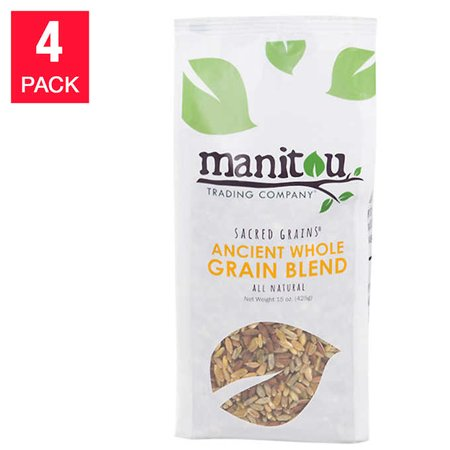 Manitou Ancient Whole Grain Blend, 4-pack