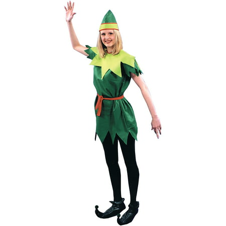 Peter Pan Lady Adult Halloween Costume (Peter Happy Halloween)