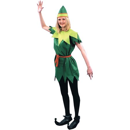 Peter Pan Lady Adult Halloween Costume](Plus Size Peter Pan Costume)