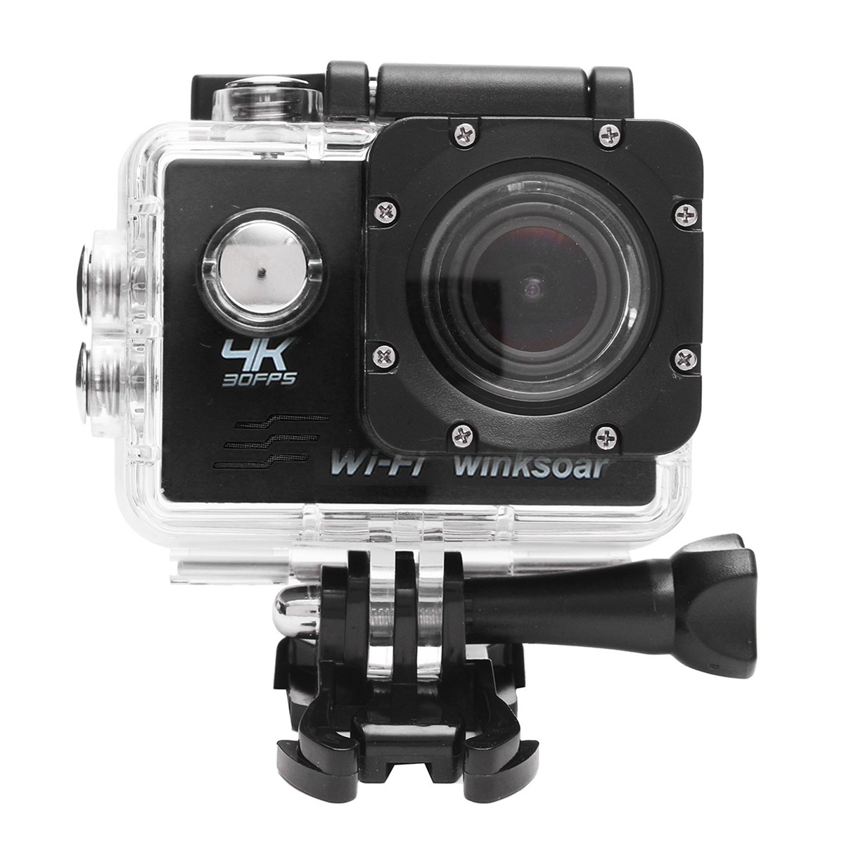 Winksoar SJ8000 Waterproof 4K HD Sports Action Mini DV Camera WiFi 2.0 LCD 170° Wide Angle 2-inch Screen Display