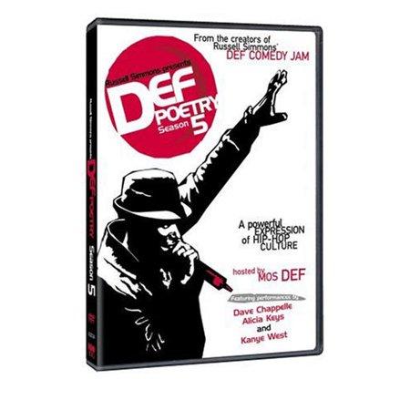Def Poetry - Season 5 (2002) DVD Mos Def, Russell Simmons, Alicia Keys](Alicia Keys Halloween)