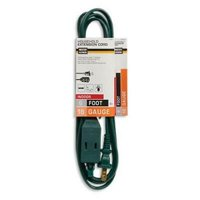 Master Electrician 6' 16/2 Spt-2 Green Cube Tap Extension Cord 4PK