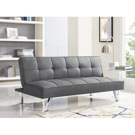 Serta Chelsea Convertible Sofa Futon, Multiple Colors - Walmart.com