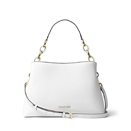 a8817212ebc23c MICHAEL Michael Kors - MICHAEL Michael Kors Portia Large East/West Shoulder  Bag - Optic White - Walmart.com