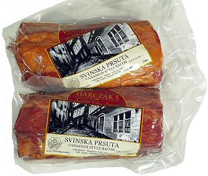Smoked Pork Loin Prsuta (Harczaks) approx. 1.0-1.3lb by