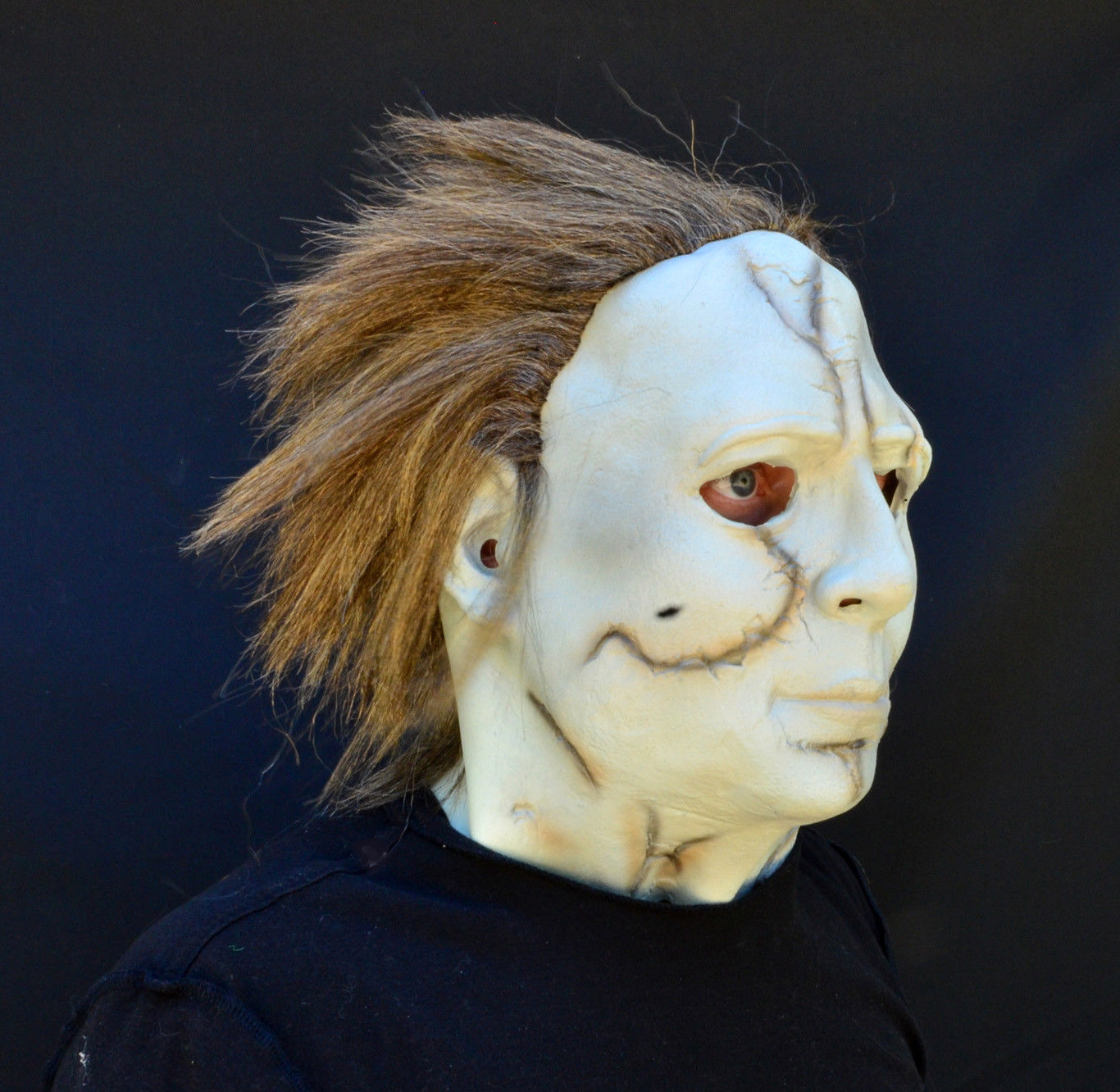 Creepy Scary Halloween Movie Mask Latex Michael Myers Costume Mask