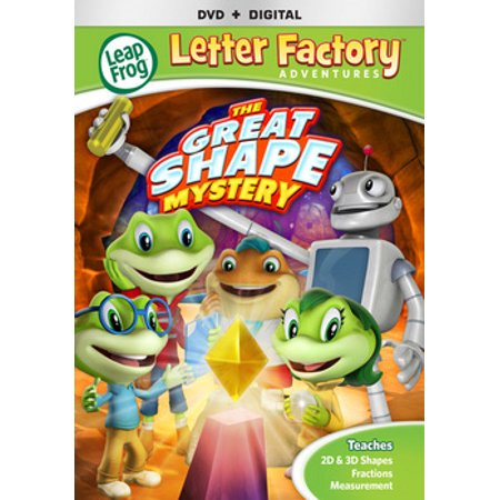 Leapfrog Letter Factory Adventures: The Great Shape Mystery (DVD)