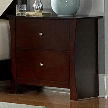 Woodbridge Home Designs Avelar 2 Drawer Nightstand