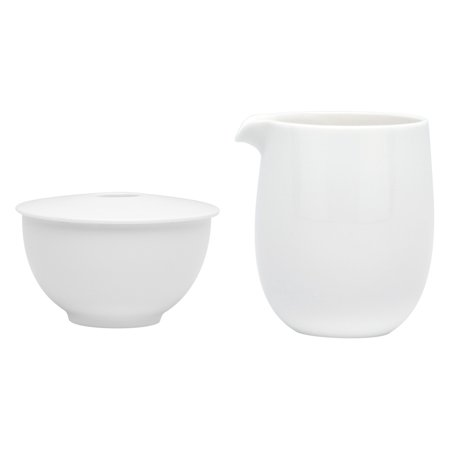 Blossom Time Sugar Bowl - Red Vanilla Every Time White Sugar Bowl and Creamer Set