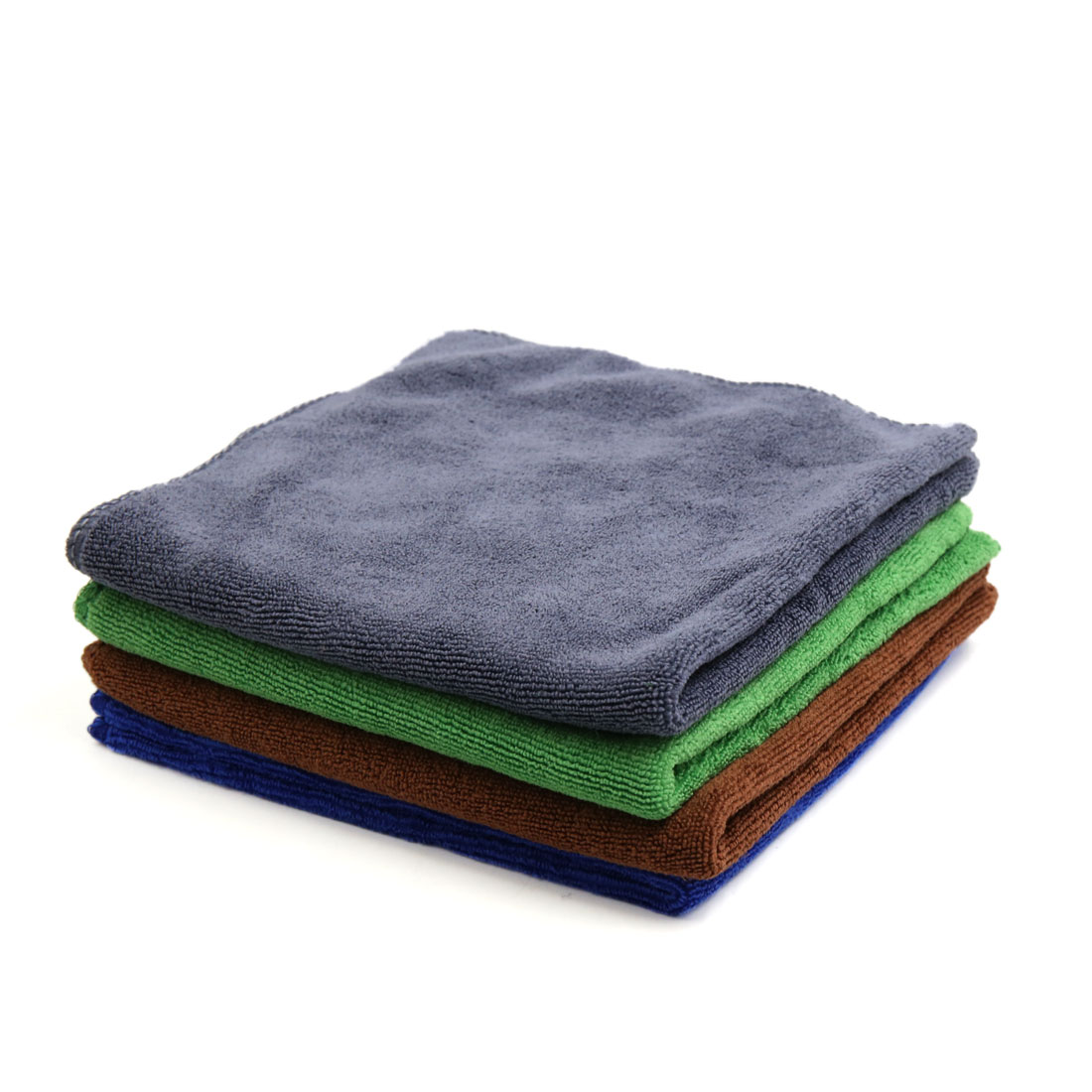 4 Pcs High Absorbing Car Clean Cloth Towel No-scratched for Car Vehicle Multi-colour