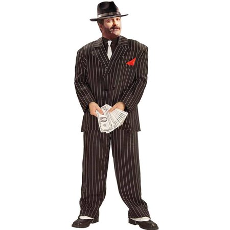 Adult XL Chicago Gangster Halloween Costume