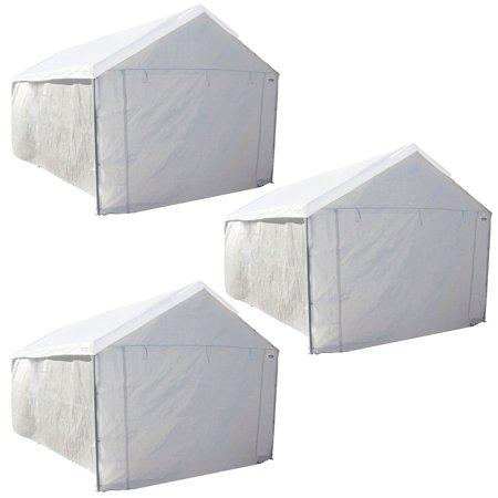 - Caravan Canopy Car Port 6 Leg Tent Sidewalls (3 Pack)