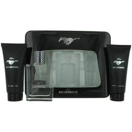 Mustang amgmus3t 3 Piece Gift Set for Men In Tin Box