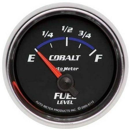 (AUTO METER 6113 2-1/16IN FUEL LEVEL, 0 E/ 90 F, GM, SSE, COBALT)