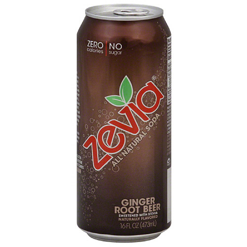 Zevia Ginger Root Beer, 16FO (Pack of 12)