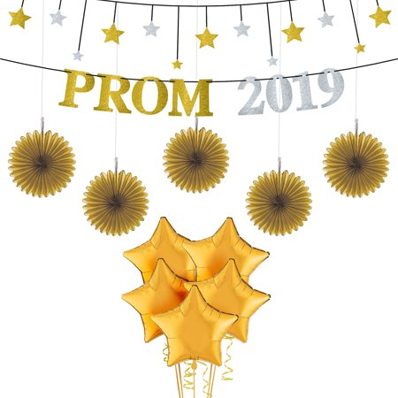 Party City Prom Star Balloon Kit, Includes Gold and Silver Banners and Balloons - Phone Number To Party City