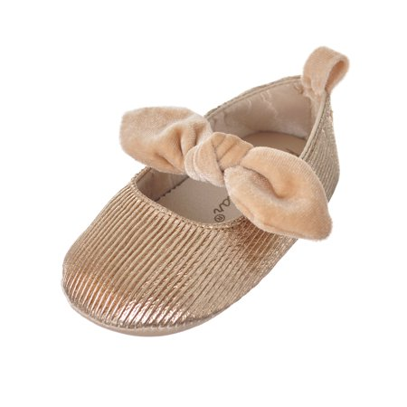 Rising Star Baby Girls' Ballet Flat Booties - Ballet Flats Toddlers