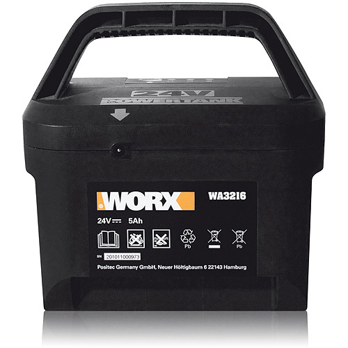 WORX 24V Lead Acid 5Ah Battery for WG775, 782, 783 Mowers