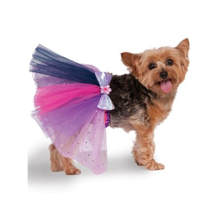 Sparkle Petticoat (Twilight Sparkle Pet Tutu Costume - Size SMALL/MEDIUM )