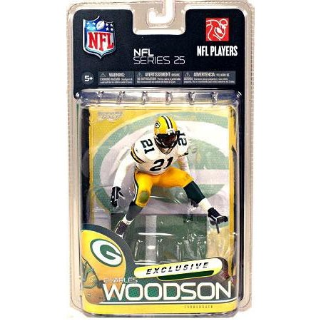 Cheap McFarlane Toys Green Bay Packers NFL 25 Charles Woodson White Jersey  hot sale wACJJyoW
