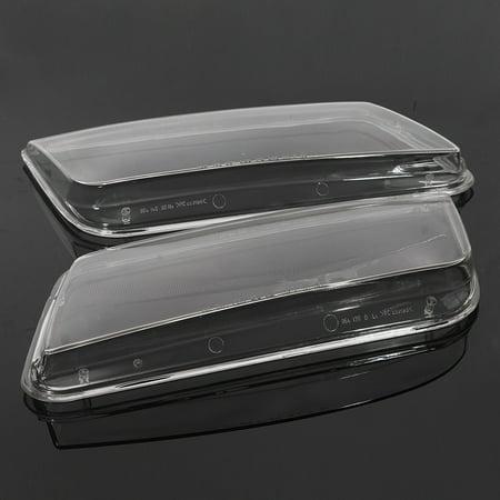 2x Plastic Headlight Lenses Cover Headlamp For VW JETTA BORA MK4 1998-2004 Lamp - image 2 de 5