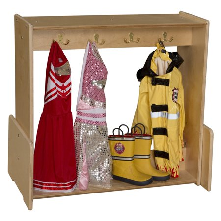 Wood Designs Contender Dress-Up Center - Famous Couples Dress Up