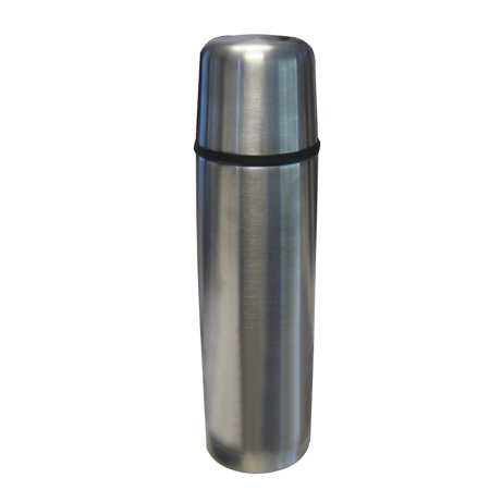 Thermos Fbb750Ss4 Stainless Steel Vacuum Insulated Compact Bottle, 25 oz