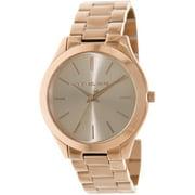 Michael Kors Women's Slim Runway Stainless Steel Bracelet Watch