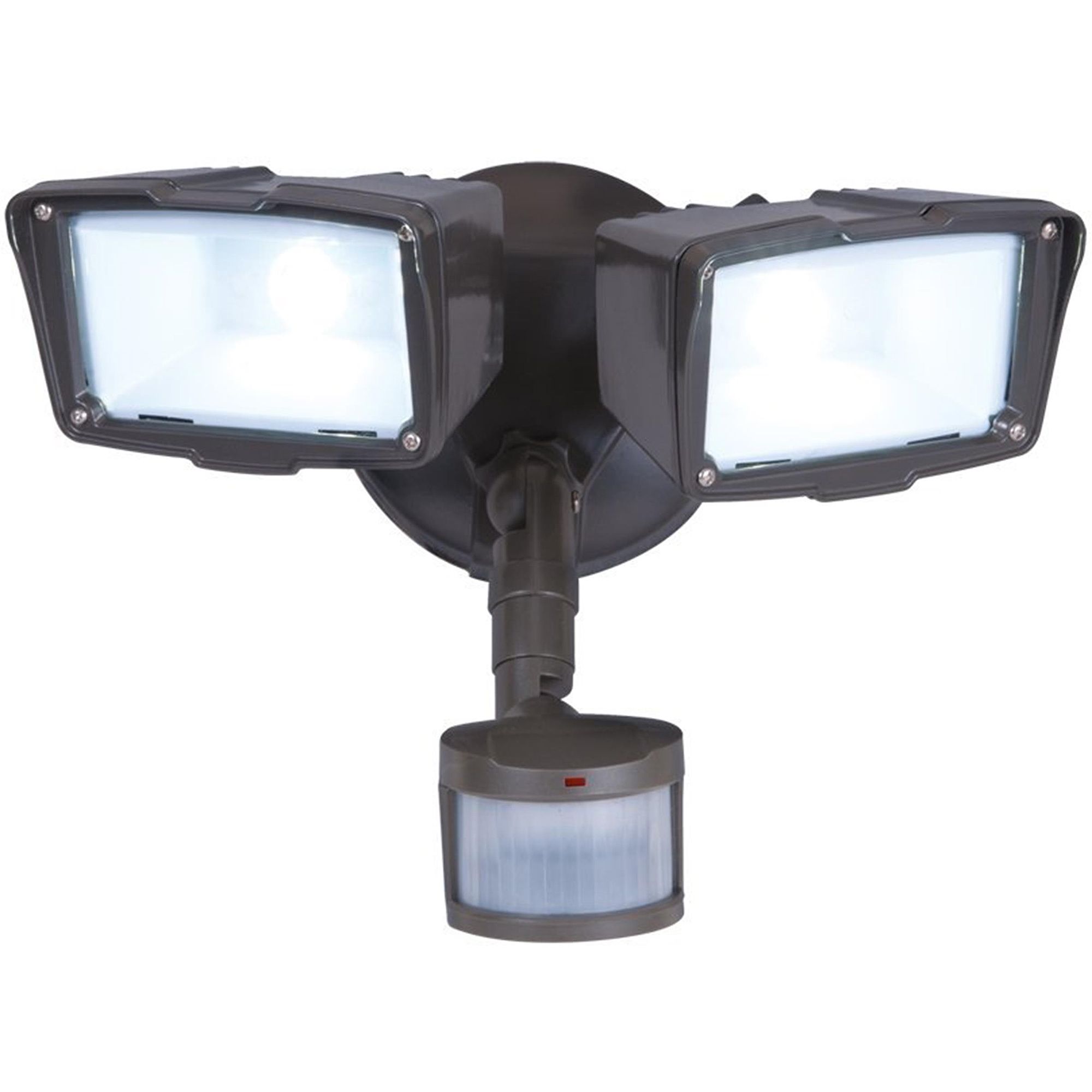 All Pro Outdoor Security 180 Degree Motion Activated Twin Head LED  Floodlight  Bronze   Walmart comAll Pro Outdoor Security 180 Degree Motion Activated Twin Head LED  . Exterior Flood Light. Home Design Ideas