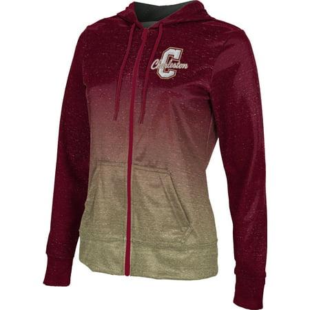 College University Sweatshirts (ProSphere Girls' College of Charleston University Ombre Fullzip)