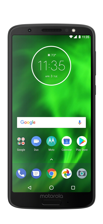 Motorola Moto G6 32GB Unlocked Smartphone Black