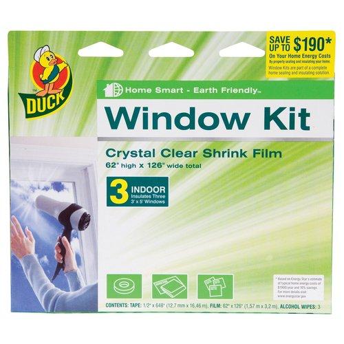 Duck 3pk Shrink Window Kit