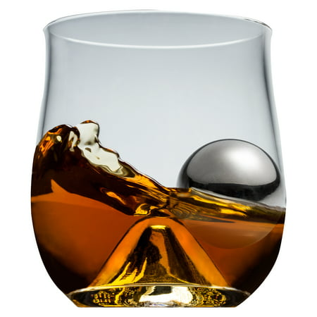 Brilliant 4-Piece 10 oz. Whiskey Glass Set American Brilliant Cut Glass