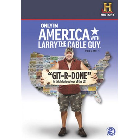 Only In America with Larry The Cable Guy: Volume 1 (DVD) Larry Cable Guy Shows