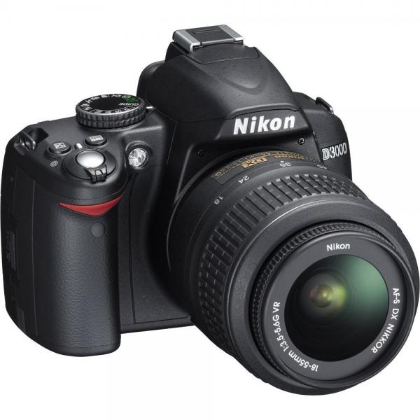 Nikon D3000 10MP Digital SLR Camera with 18-55mm f/3.5-5....