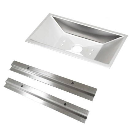 - Weber 85897 Gas Grill Drip Tray and Rails Genesis Silver A, Spirit 500, 520 Pan