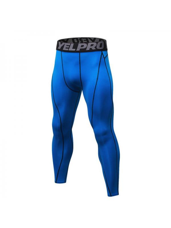 Mens Compression Pants Base Layer Fitness Tights Sports Workout Long Trousers