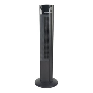 Lasko Wind Curve with Ionizer 5-Speed Fan, Model #T42915, Black with Remote