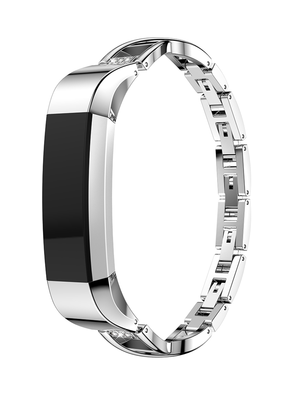 Replacement Stainless Steel Watch Band Bracelet Strap Belt for Fitbit Alta, Fitbit Alta HR