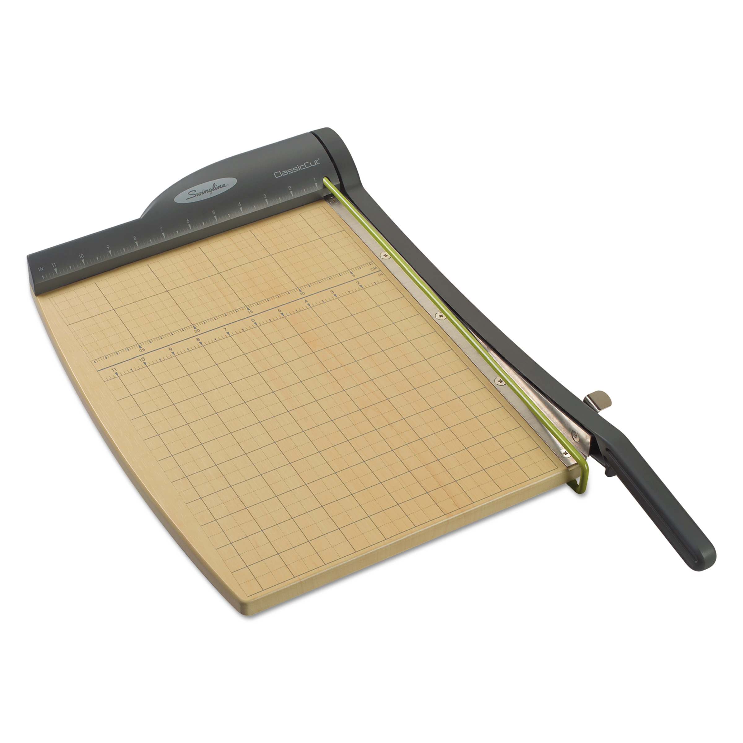 Swingline ClassicCut Pro Paper Trimmer, 15 Sheets, Metal/Wood Composite Base, 12 x 15 -SWI9115