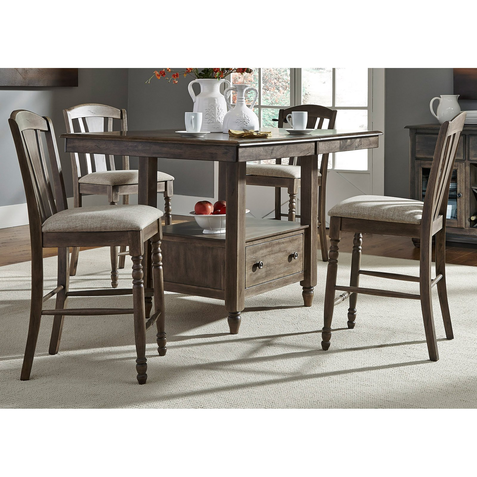 Liberty Furniture Industries Candlewood Gathering Dining Table