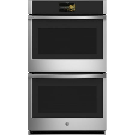 """GE Profile Stainless Steel PTD7000SNSS 30"""""""" Smart Double Wall Oven with 10 cu. ft. Total Capacity"""