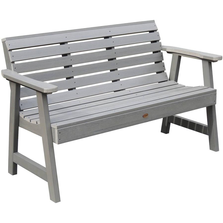 Highwood Eco-Friendly Weatherly Garden Bench, 4' by Highwood USA