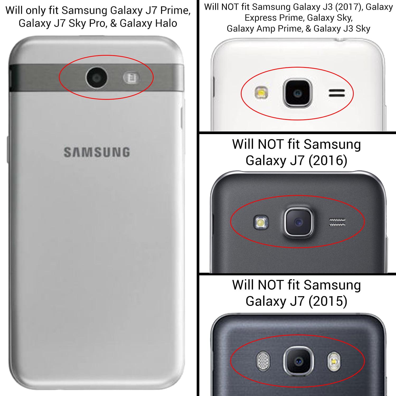 CoverON Samsung Galaxy J7 Prime / J7 Sky Pro / Halo Case, Rugged Series Protective Hybrid Phone Cover - Walmart.com