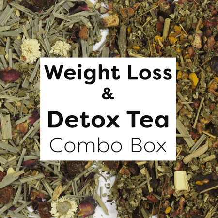 Field to Cup Weight Loss & Detox Combo, Mate & Herbal, 4oz, 2 bags- 45-60 cups
