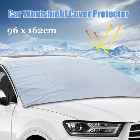 96x162cm Auto Car SUV Front Windshield Cover Sun Snow Ice Frost (Best Suv In Snow And Ice 2019)