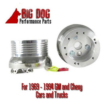 - Hot Rod Street Rod Rat Rod Chevy GM GMC 5/6 Hole Steering Wheel Adapter