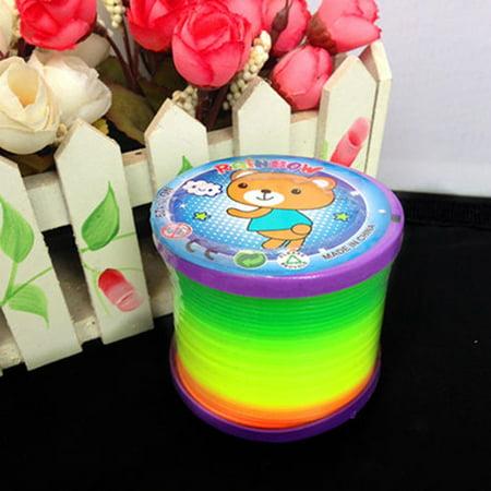 - Moderna Walking Rainbow Spring Educational Toy Circle Slinky Magic Circle Stretchy Gift