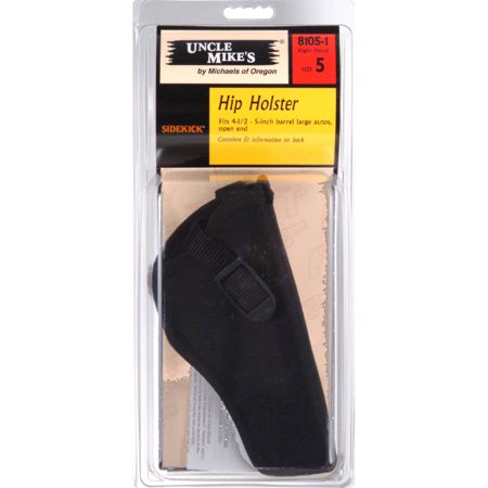 UNCLE MIKES SIDEKICK HIP HOLSTER NYLON BLACK LARGE AUTO